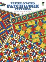 United States Patchwork Patterns Coloring Book - Carol Schmidt