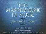 The Masterwork in Music : 1925 Volume 1 - Heinrich Schenker