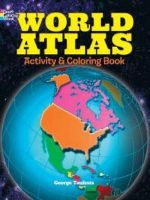 World Atlas Activity and Coloring Book - George Toufexis