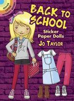 Back to School Sticker Paper Dolls - Jo Taylor
