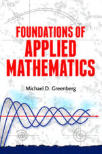 Foundations of Applied Mathematics - Michael D. Greenberg