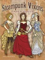 Steampunk Vixens Paper Dolls - Ted Menten