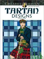 Creative Haven Tartan Designs Coloring Book - Marty Noble