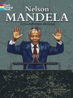 Nelson Mandela Coloring Book - George Toufexis