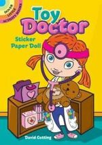 Toy Doctor Sticker Paper Doll - David Cutting