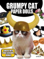 Grumpy Cat Paper Dolls - Grumpy Cat