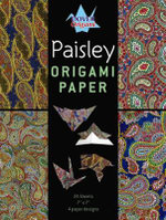 Paisley Origami Paper - Dover