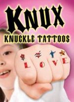 Knux -- Knuckle Tattoos for Girls - Dover