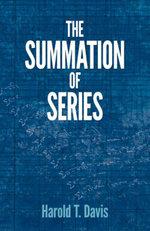 The Summation of Series - Harold T. Davis