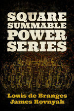 Square Summable Power Series - Louis de Branges