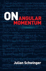 On Angular Momentum - Julian Schwinger