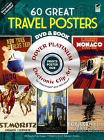 120 Great Travel Posters : Dover Electronic Clip Art - Carol Belanger Grafton