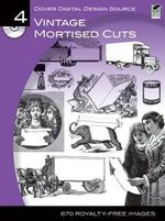Vintage Mortised Cuts : Dover Electronic Clip Art - Dover Publications Inc