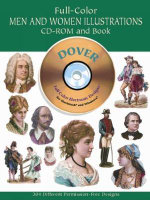 Full-Color Men and Women Illustrations : Dover Pictorial Archives - Dover Publications Inc