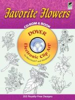 Favorite Flowers : Dover Electronic Clip Art - Dover Publications Inc