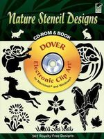 Nature Stencil Designs : Dover Pictorial Archives - Dover Publications Inc