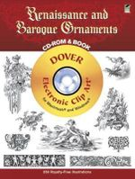 Renaissance and Baroque Ornaments : Dover Electronic Clip Art - Dover Publications Inc