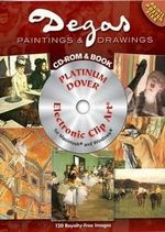 Degas Paintings and Drawings : Dover Electronic Clip Art - H. G. E. Degas