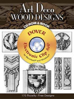 Art Deco Wood Designs : Dover Electronic Clip Art - Laurence Malcles