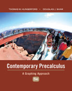 Contemporary Precalculus : A Graphing Approach - Thomas W Hungerford