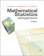 Mathematical Statistics with Applications : 7th Edition - Dennis Wackerly