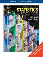Statistics for the Behavioral Sciences - James Jaccard