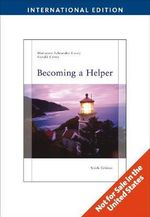 Becoming a Helper - Gerald Corey