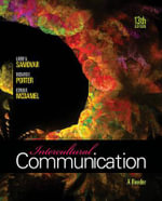 Intercultural Communication : A Reader - Larry A Samovar