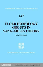 Floer Homology Groups in Yang-Mills Theory - S. K. Donaldson