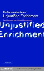 Unjustified Enrichment