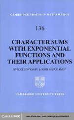 Character Sums with Exponential Functions and their Applications - Sergei Konyagin