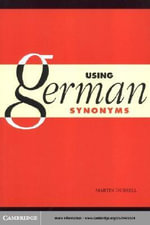 Using German Synonyms - Martin Durrell