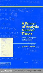 A Primer of Analytic Number Theory - Jeffrey Stopple
