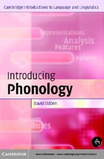 Introducing Phonology - David Odden