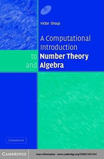 A Computational Introduction to Number Theory and Algebra - Victor Shoup