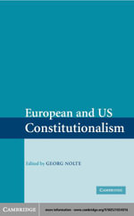 European and US Constitutionalism