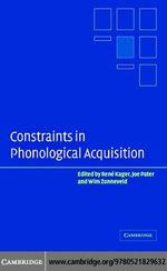 Constraint Phonological Acquisition