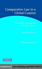 Comparative Law Global Context 2ed - Werner F. Menski