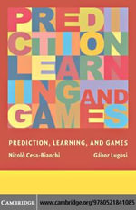 Prediction, Learning, and Games - Nicolo Cesa-Bianchi