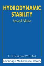 Hydrodynamic Stability 2ed - P. G. Drazin