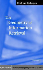 The Geometry of Information Retriev - C. J. van Rijsbergen