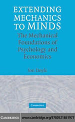 Extending Mechanics to Minds - Jon Doyle