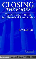 Closing the Books - Jon Elster