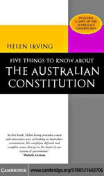 5 Things About Australian Cons - Helen Irving