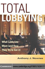 Total Lobbying - Anthony Nownes
