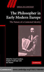 Philosopher in Early Modern Europe