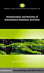 Interp Rev Intl Boundary Decisions - Kaiyan Homi Kaikobad