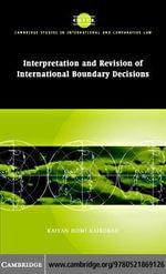 Interp Rev Intl Boundary Decisions - Kaiyan Homi Kaikobad