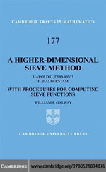 A Higher-Dimensional Sieve Method - Harold G. Diamond