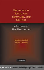 Patriarchal Religion, Sexuality, and Gender - Nicholas Bamforth